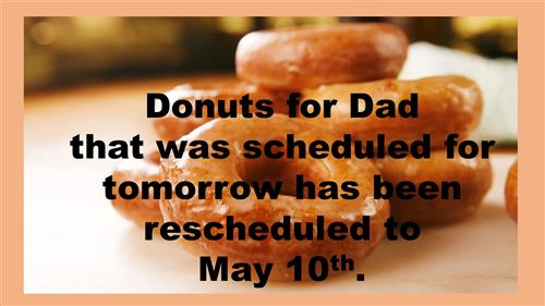 Donuts For Dad