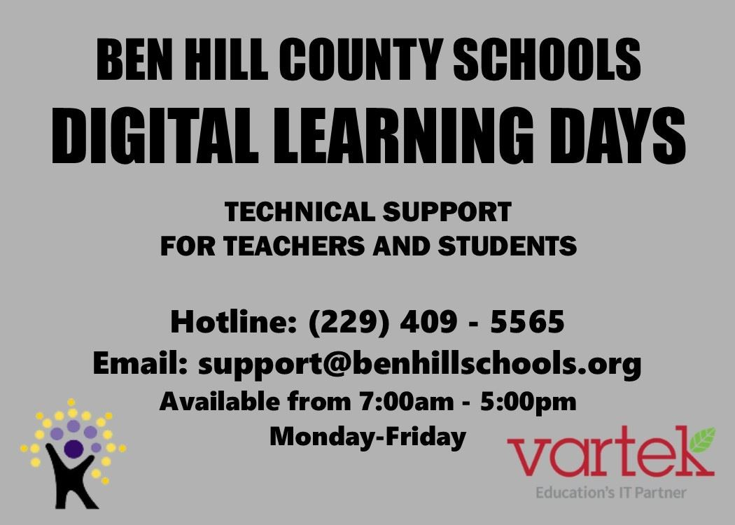 Technical Support for Ben Hill County Schools