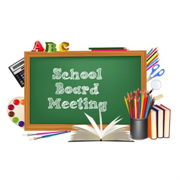 School Board meeting changed