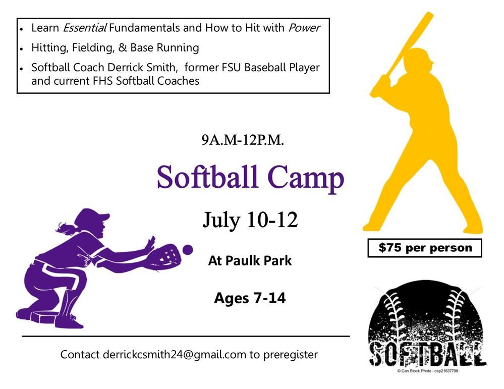 Summer Camps for 2018