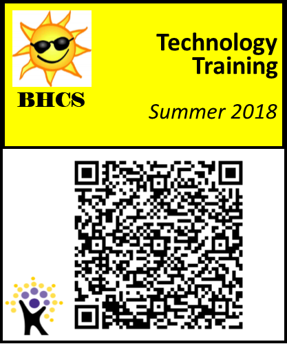 QR code for Tech Training