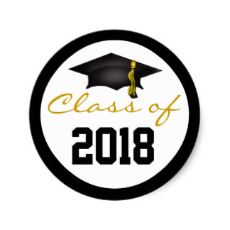 Circle design for Class of 2018